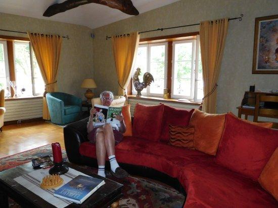 La Bergerie: The grand salon