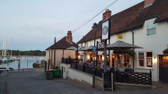 Hamble, UK: The Bugle