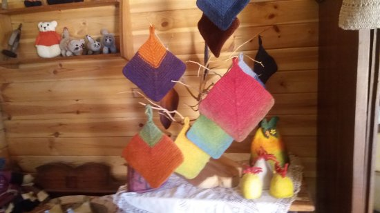 Lahemaa National Park, إستونيا: And some unic felted things.