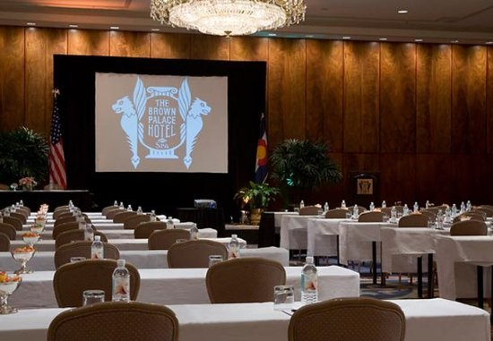 The Brown Palace Hotel and Spa, Autograph Collection: Grand Ballroom Meeting