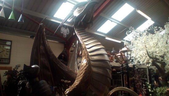 Oswestry, UK: Dragons den!!