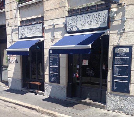 Esterno del ristorante foto di il marinaio milano for L esterno del ristorante cruciverba