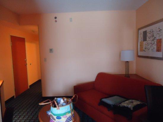 Hollins, VA: our room