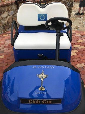 Montverde, ฟลอริด้า: Sir Nick's Golf Cart