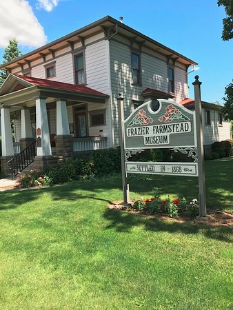 Milton Freewater, OR: Frazier Farmstead Museum