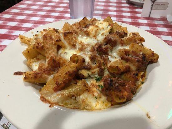 Baked Pasta Picture Of Buca Di Beppo Italian Restaurant