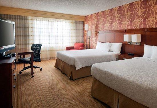 Milpitas, Californien: Queen/Queen Guest Room