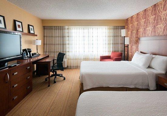 Milpitas, Californien: Double/Double Guest Room - Upgraded Amenities