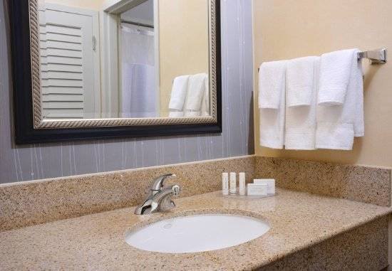 Bathroom Vanities Okc guest bathroom vanity - picture of courtyard oklahoma city airport