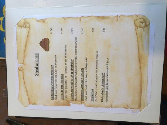 Feistritz im Rosental, Áustria: page of the menu