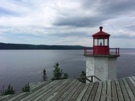Sainte-Rose-du-Nord, Canadá: Le sentier du phare