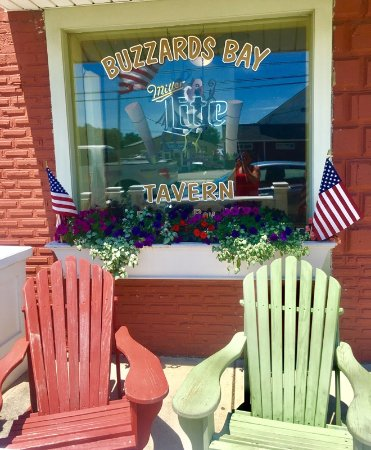 Sit by the Cape Cod Canal on Historic Main Street Buzzards Bay