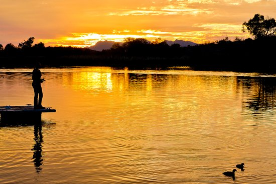 Sunset at Patagonia Lake