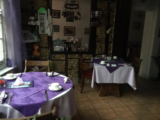 Colyton, UK: breakfast room
