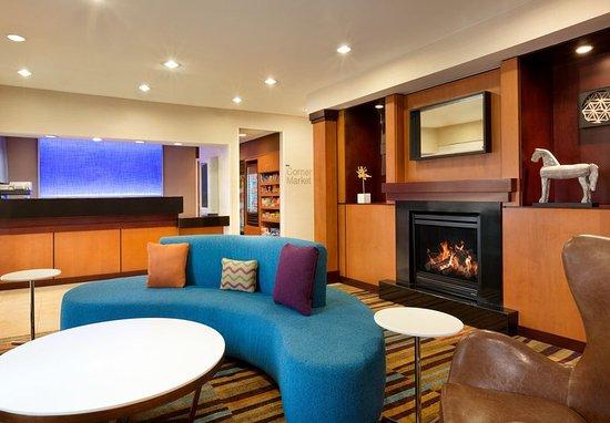 Mesquite, Teksas: Lobby - Fireplace