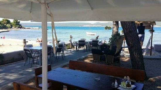 Pasman Island, Croatia: Restoran MORE, Nevidane