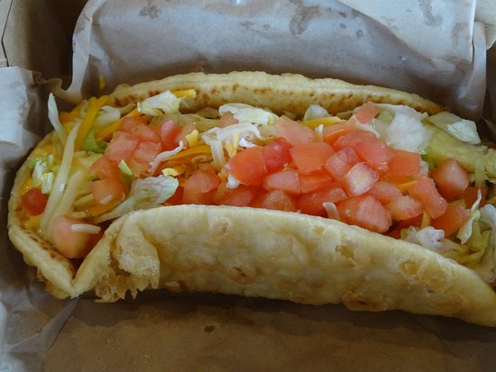 Rio Grande, NJ: This is the delicious Double Chalupa - my mouth is still watering !