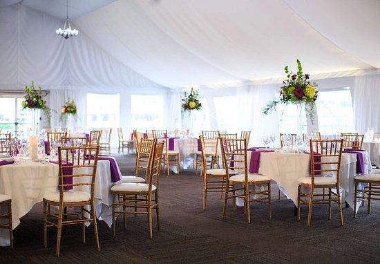 Charleston, WV: Pavilion Wedding Reception