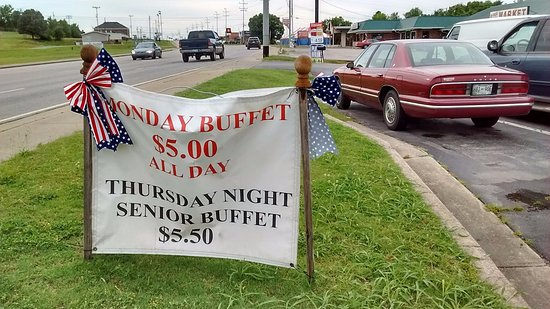 Lewisburg, TN: Check out the Monday all-day special & the Thursday night senior deal.