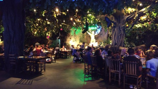 Rainforest Cafe Ac Hours