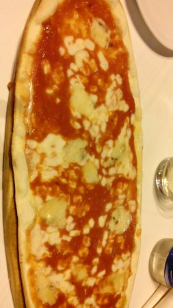 Mister T Bone: Pizza al gorgonzola