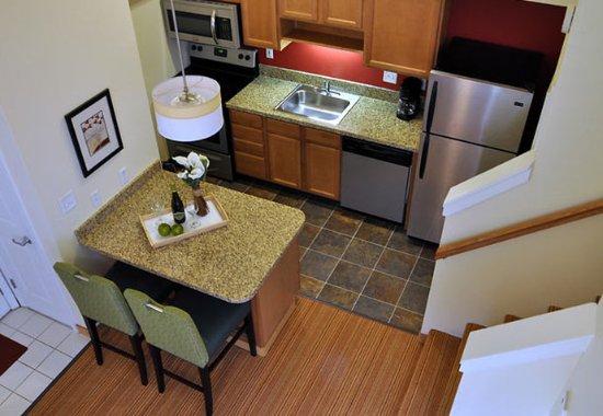 Vestal, NY: Bi-Level Loft Suite Kitchen
