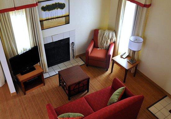 Vestal, NY: Bi-Level Loft Suite Living Room