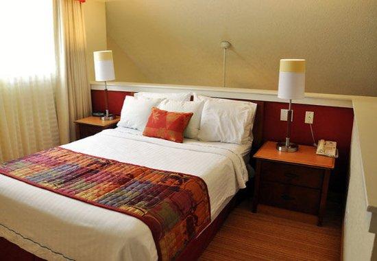 Vestal, NY: Bi-Level Loft Suite Bedroom