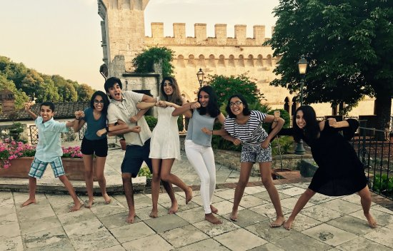 Serre di Rapolano, Włochy: Celebrating!