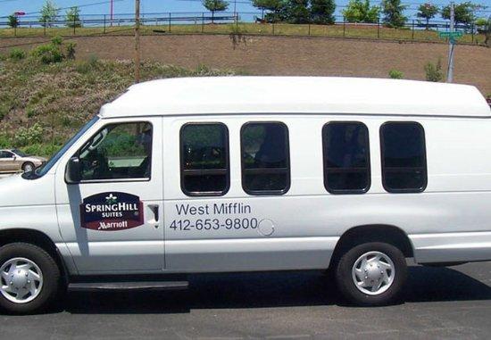 West Mifflin, PA: Complimentary Local Van Service