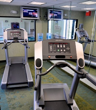 SpringHill Suites Galveston Island: Fitness Center