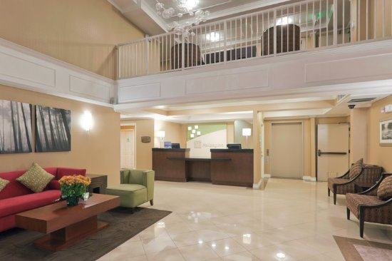 San Mateo, Califórnia: Hotel Lobby