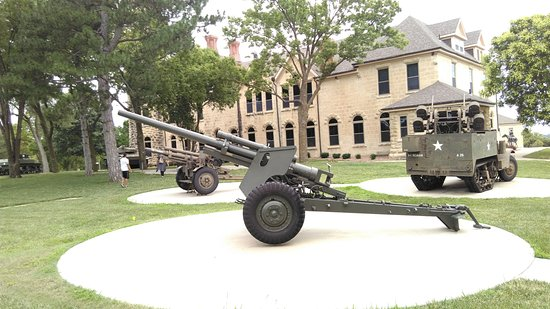Fort Riley, KS: Outside the museum