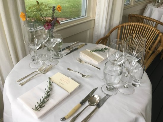 The Farmhouse at Veritas: Four course dinner