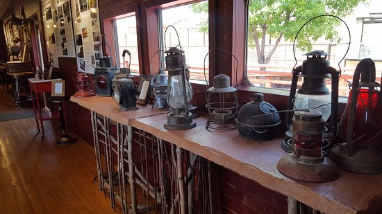 John Bell Railroad Museum: Railroad artifacts