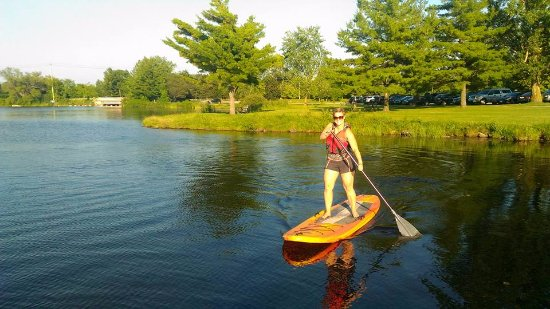 Smiths Falls, Canadá: Stand Up Paddleboard SUP at Lower Reach Park