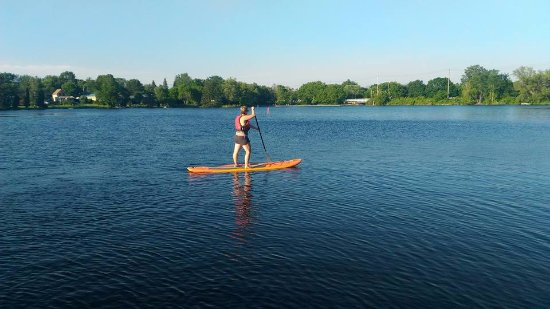 Smiths Falls, Canadá: SUP in Lower Reach Park