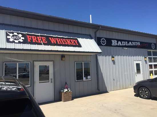 Kadoka, Dakota del Sud: Badlands Distillery