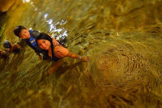 Cenote San Ignacio : formaciones de millones de años