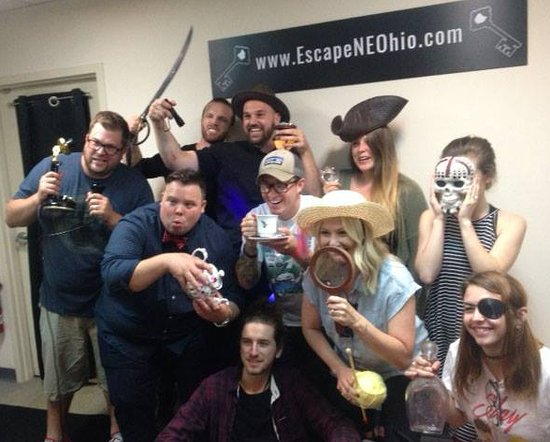 Escape NE Ohio: Our friends from NOVA - 112 N Park Ave, Warren, OH had a great time at their teambuilding event!