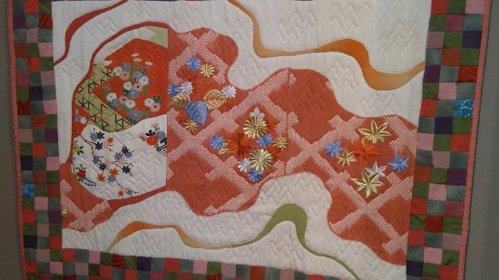 La Conner, WA: A quilt from Japan
