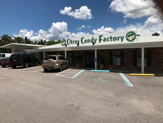 Dundee, FL: This is the store from the front and there's plenty of parking.