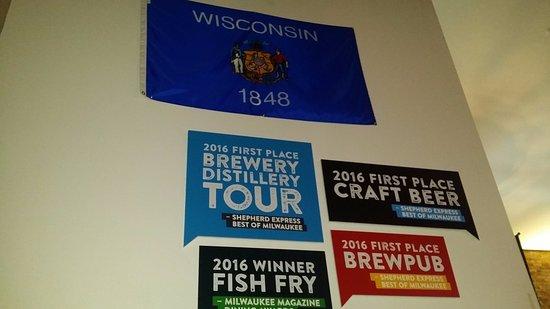 Lakefront Brewery Beer Hall Milwaukee Restaurant