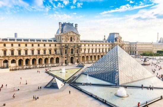 Louvre Skip-the-Line Admission and...