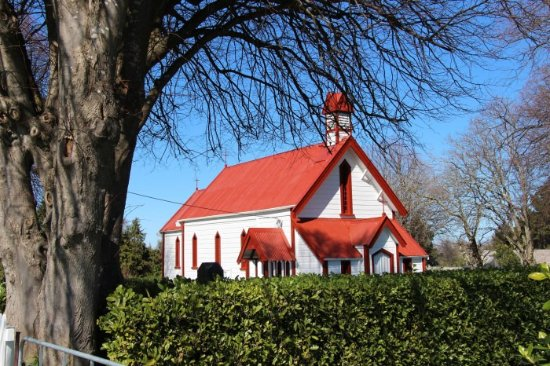 Historic St Agnes Anglican Church, Kiwitea,  hosts services at Christmas & Easter.