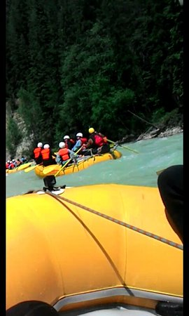 Goleen, Canadá: Kicking Horse River rafting, middle section