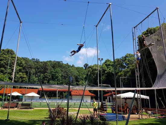 trapeze and sports area picture of club med cherating beach cherating tripadvisor. Black Bedroom Furniture Sets. Home Design Ideas