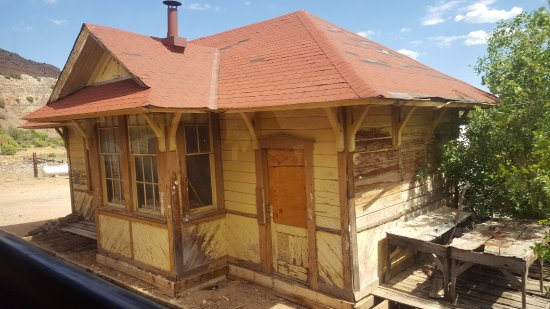 Jerome, AZ: Old railroad station