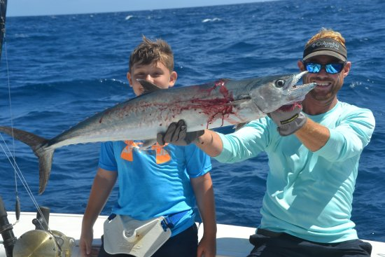Grandson 39 s fish picture of mixed bag sportfishing for Deep sea fishing st thomas