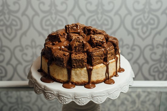 Piedras Negras, Mexico: Majestuoso (Cheesecake con brownies y nutella)